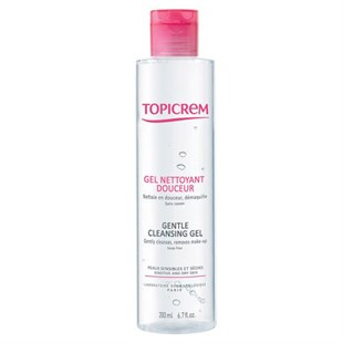 Topicrem Gentle Cleansing Gel Body & Hair 200 ml - Temizleme Jeli