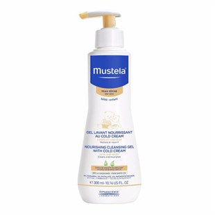 Mustela Cleansing Gel With Cold Cream Nutri Protective 300ml - Vücut Temizleme Jeli